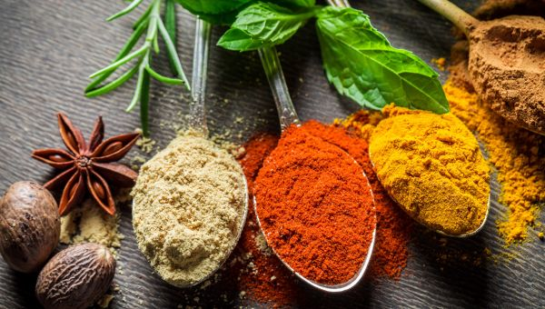 Add calorie-free flavor with spices