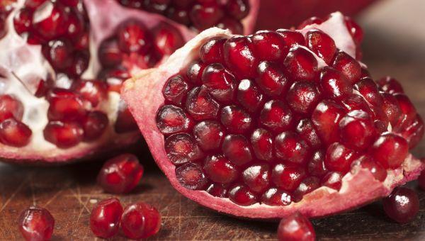 Sugar bomb: Pomegranates