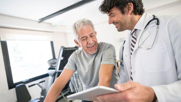 Start with cardiac rehab