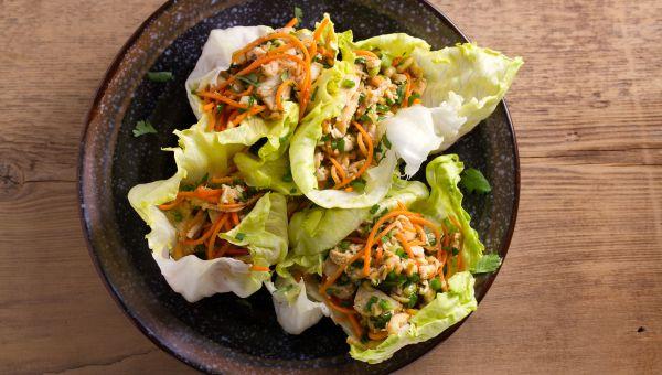 Thai Peanut Lettuce Wraps