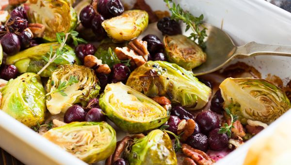 Incorporate Brussels sprouts