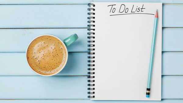 Count to 10 and make a to-do list