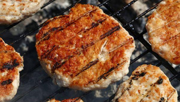 Dinner: turkey burger