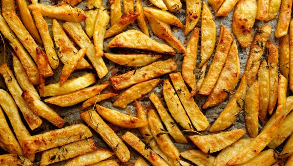 Bake some homemade french fries