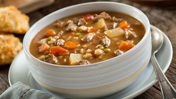 Anti-Inflammatory Recipe: Hulled Barley Vegetable Soup