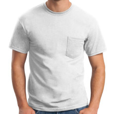 Gildan Ultra Cotton Poly Pocket T-Shirt
