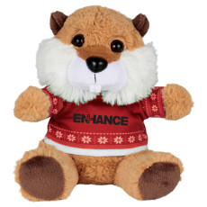"Ugly Sweater 6"" Beaver"