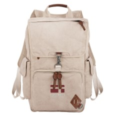 "Alternative Deluxe 17"" Cotton Computer Backpack"