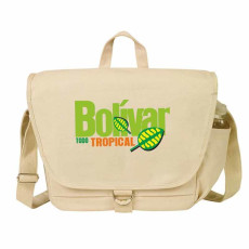 "Personalized ""eGREEN"" Canvas Messenger Bag"