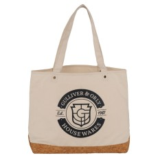Napa Cotton and Cork Shopper Tote