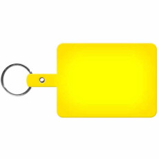 Custom Large Rectangle Flexible Key-Tag