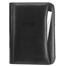 Leather Zip Padfolio
