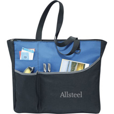 Custom Logo Metropolis Meeting Tote