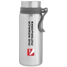 H2go Onyx - Powder 25 oz. Double Wall 18/8 Stainless Steel Thermal Bottle