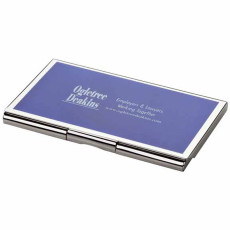 Imprinted Metal Card Case
