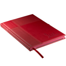 Imprinted Tuscany Duo-Textured Journal