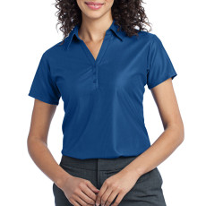 Port Authority Ladies Vertical Pique Polo