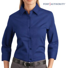 Port Authority Ladies' 3/4 Sleeve Shirt