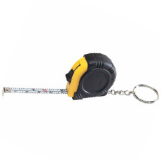 Laminated Label Rubber Tape Measure Key Tag
