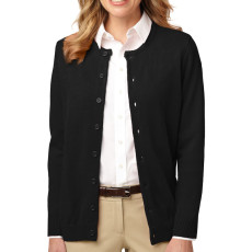 Port Authority Ladies Value Jewel-Neck Cardigan (Apparel)