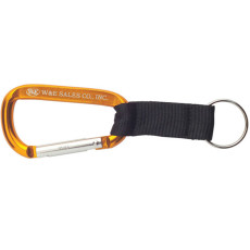 Monogrammed Carabiners with Strap