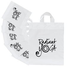 White Soft Cut Plastic Bags
