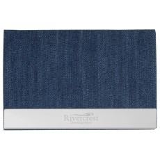 Utah Denim Business Card Case