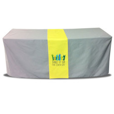 Narrow Open Back Table Runner