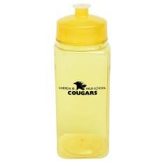 Personalized 24 oz. PolySure Squared-Up Bottle