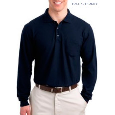 Port Authority L-Sleeve Silk Touch Sport Shirt