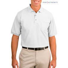 Port Authority Silk Touch Shirt with Pocket