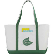 Premium Heavy Weight Cotton Zippered Boat Tote
