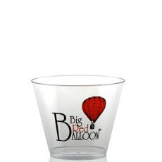 9 oz. Clear Plastic Rocks Cups