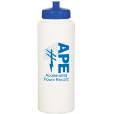 Printed 32 Oz. Super Sports Bottle