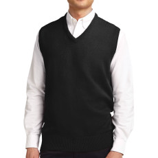 Port Authority Value V-Neck Sweater Vest (Apparel)