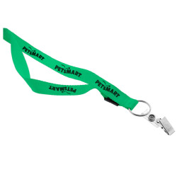 "Imprinted 3/4"" Lanyard Bull Dog Clip"