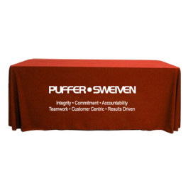 8' Custom Tablecloths - Throw Style