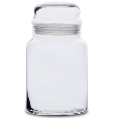 Glass Storage Jar With Lid