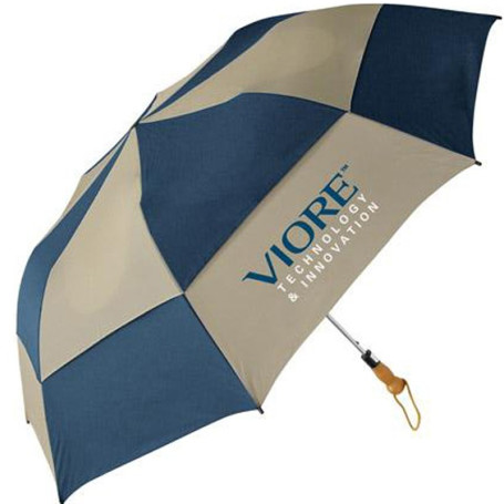 Monogrammed Traveler Deluxe Auto Open Folding Umbrella