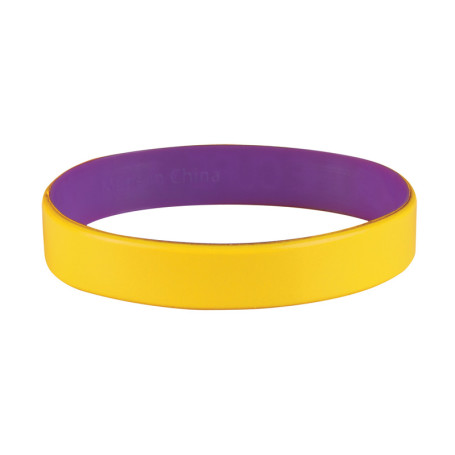 Colored Letter Silicone Bracelet