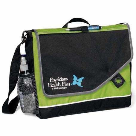 Personalized Attune Messenger Bag II
