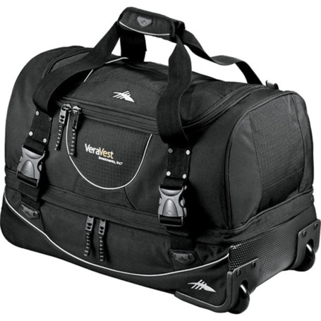 "Custom High Sierra 22"" Rolling Duffel"