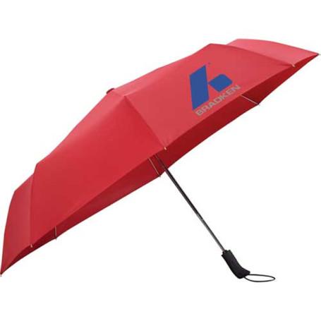 "Custom Logo 54"" Auto Open/Close Folding Umbrella"