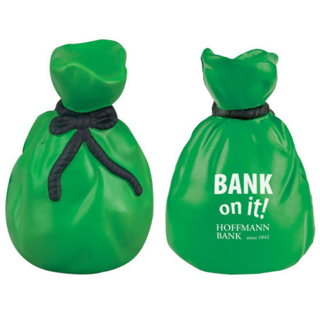Custom Moneybag Stress Reliever