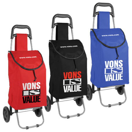 Custom Printed Foldable Trolley/Shopping Cart