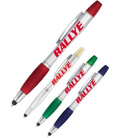 Customizable Nash Pen-Highlighter-Stylus