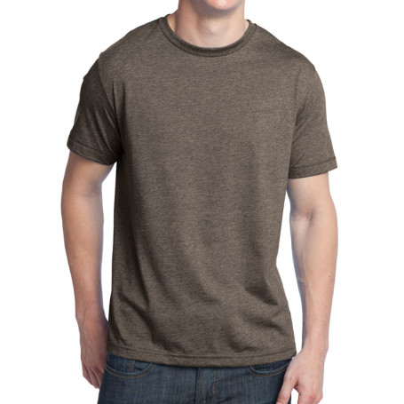 District - Young Mens Tri-Blend Crew Neck Tee (Apparel)