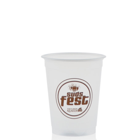 5 oz. Soft Sided Frosted Plastic Cups