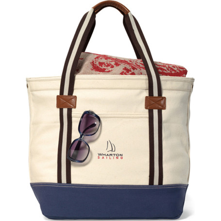 Custom Logo Heritage Supply™ Catalina Cotton Tote