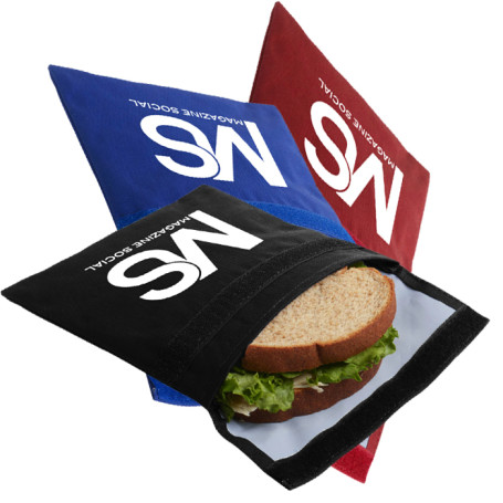 Promo Reusable Sandwich & Snack Bag